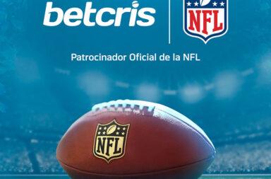 Betcris as NFL Official Betting Partner