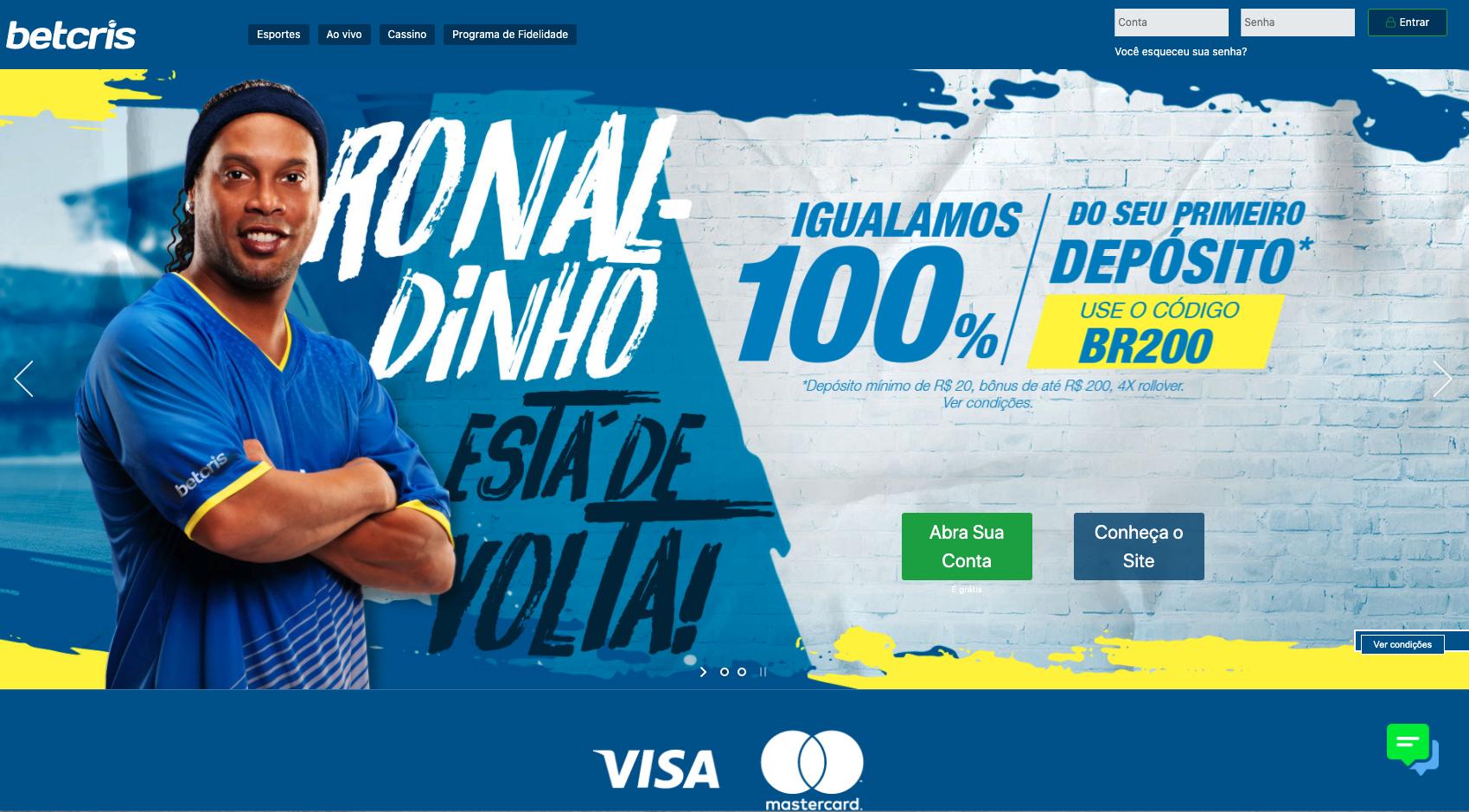 Betcris Brazilian Betting Page